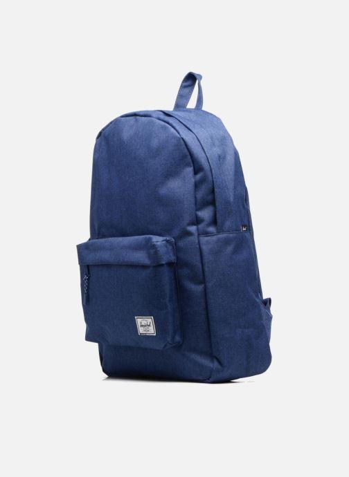 Rucksäcke Herschel Classic blau schuhe getragen