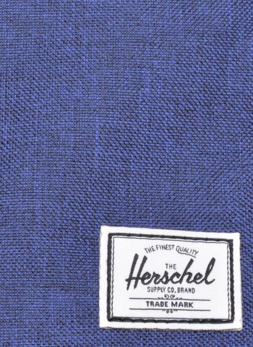 Sacs à dos Herschel Settlement Bleu vue gauche