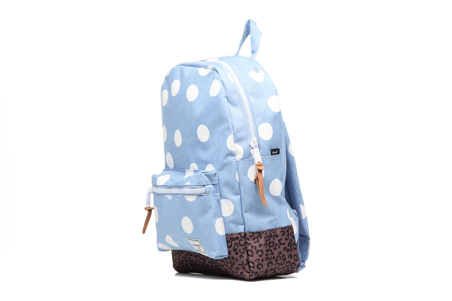 Rucksacks Herschel Settlement Blue model view
