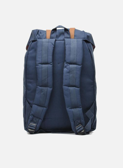 Mochilas Herschel Retreat Azul vista de frente