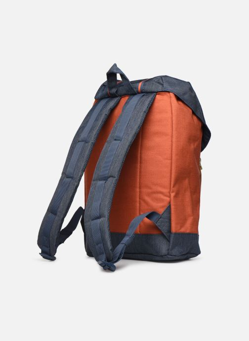 Mochilas Herschel Retreat Naranja vista lateral derecha