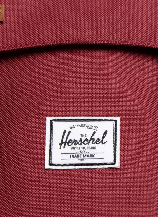 Sacs à dos Herschel Little America Bordeaux vue gauche