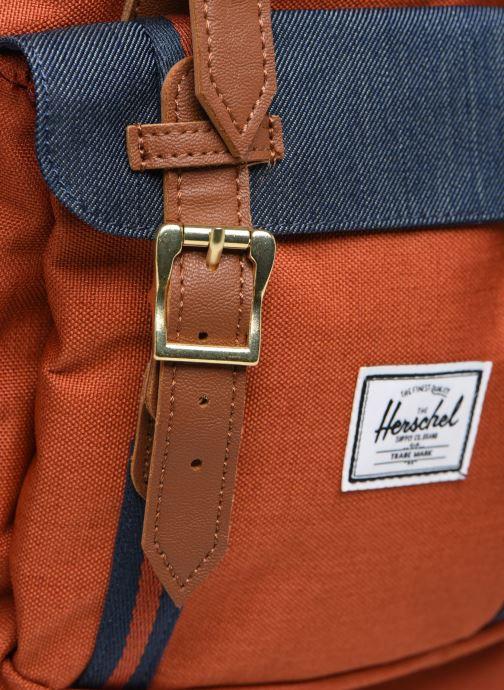 Rugzakken Herschel Little America Oranje links