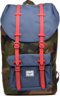 Woodland camo/navy/red rubber