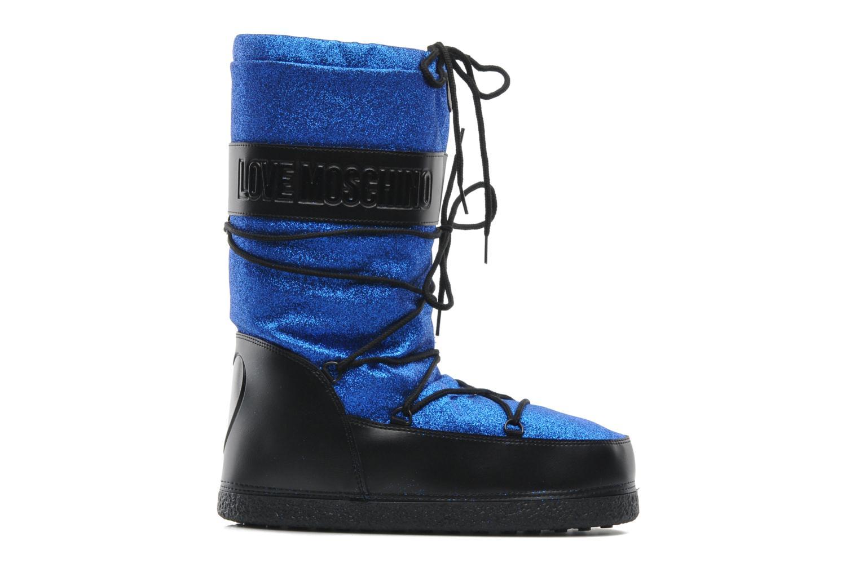 Bottines et boots Love Moschino Love boot Bleu vue derrière