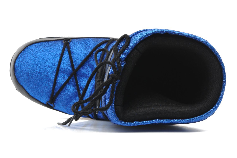 Bottines et boots Love Moschino Love boot Bleu vue gauche