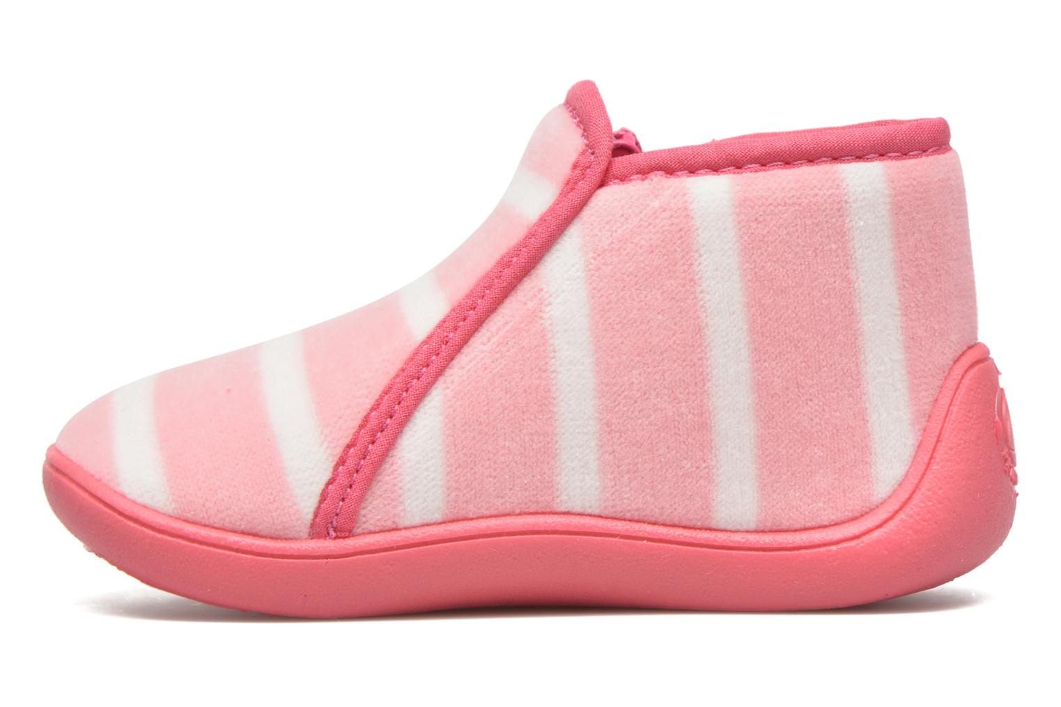 Slippers Petit bateau PB Conte Rose Pink front view