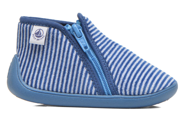 Chaussons Petit bateau PB Arles B Bleu vue derrière