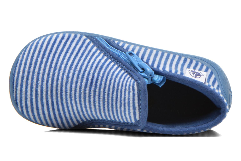 Chaussons Petit bateau PB Arles B Bleu vue gauche