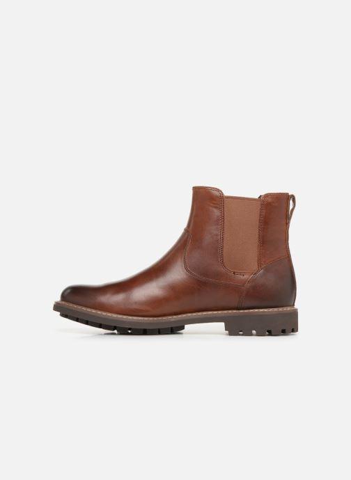 Stiefeletten & Boots Clarks Montacute Top braun ansicht von vorne