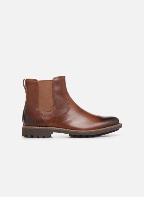 Bottines et boots Clarks Montacute Top Marron vue derrière