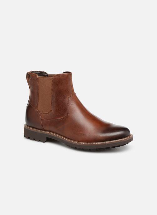 Bottines et boots Clarks Montacute Top Marron vue détail/paire