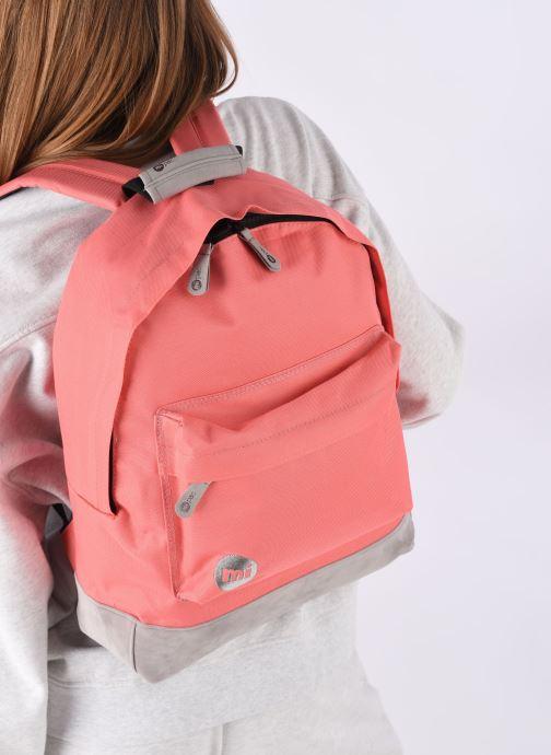 Sacs à dos Mi-Pac Classic Backpack Rose vue bas / vue portée sac