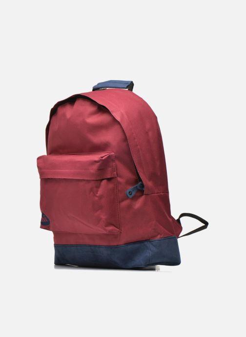 Zaini Mi-Pac Classic Backpack Bordò modello indossato