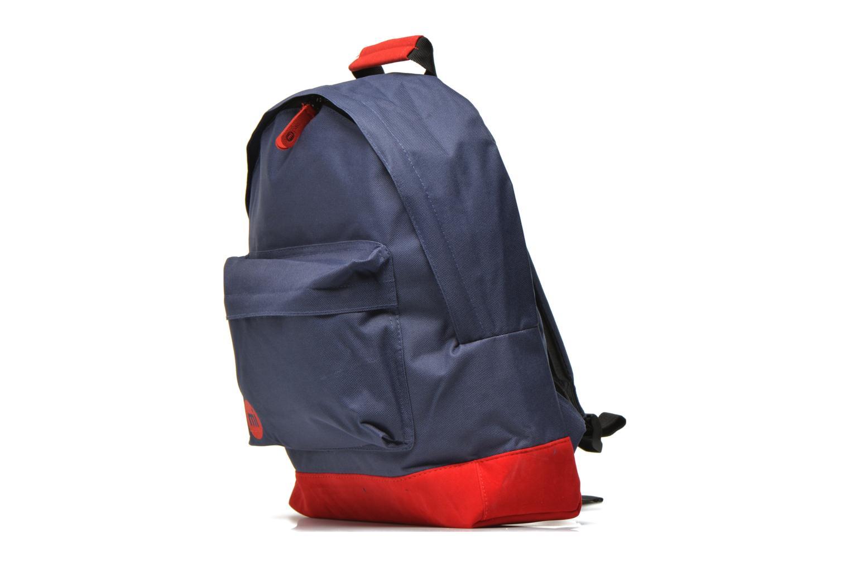 Sacs à dos Mi-Pac Classic Backpack Bleu vue portées chaussures