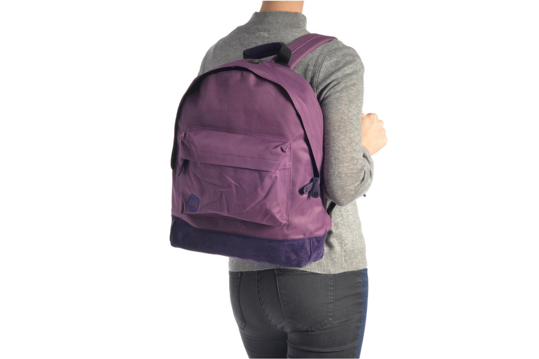 Sacs à dos Mi-Pac Classic Backpack Bleu vue haut