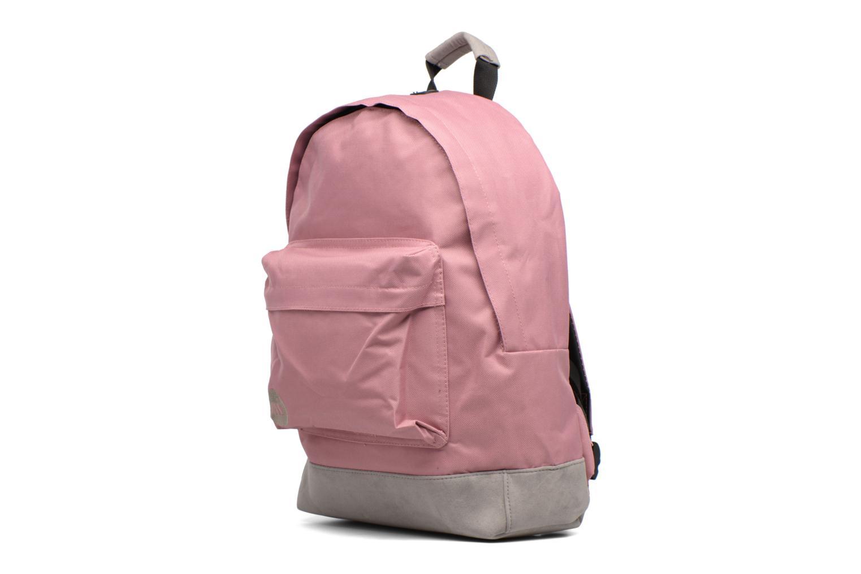 Sacs à dos Mi-Pac Classic Backpack Rose vue portées chaussures