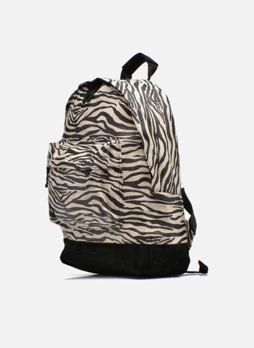Sacs à dos Mi-Pac Premium Backpack Beige vue portées chaussures