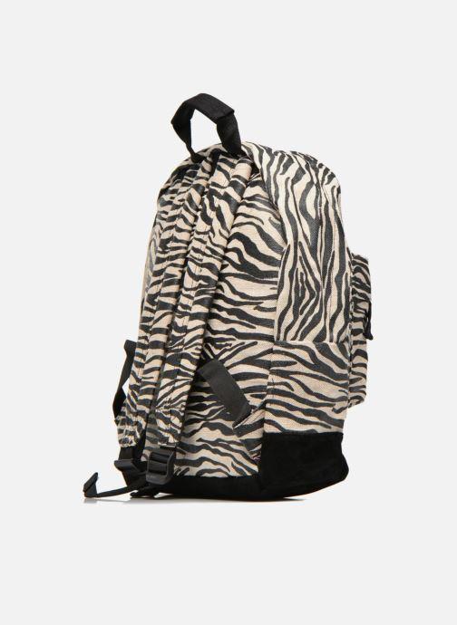 Mochilas Mi-Pac Premium Backpack Beige vista lateral derecha
