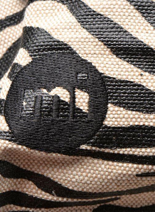 Sacs à dos Mi-Pac Premium Backpack Beige vue gauche