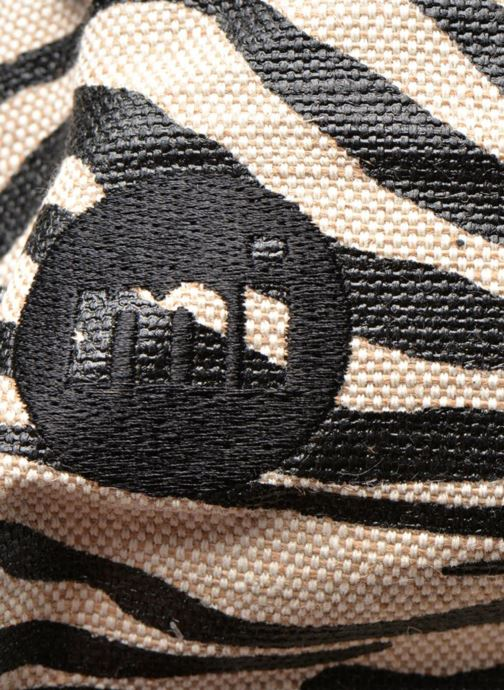 Mochilas Mi-Pac Premium Backpack Beige vista lateral izquierda