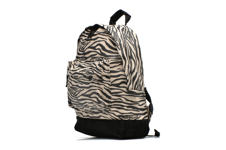 Zebra Pac white Mi Backpack Premium Canvas Black 07Bqvwg