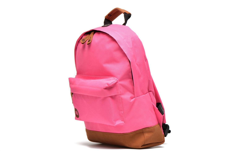 Sacs à dos Mi-Pac Mini Backpack Rose vue portées chaussures