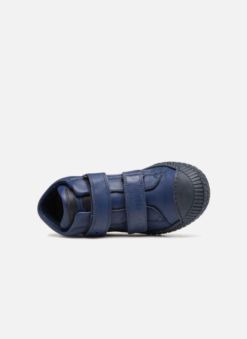 Sneaker Stones and Bones Nevan blau ansicht von links