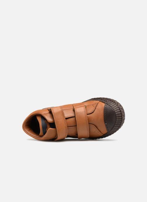 Sneaker Stones and Bones Nevan braun ansicht von links