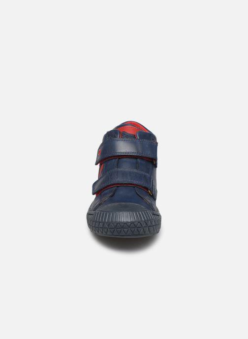 Baskets Stones and Bones Nevan Bleu vue portées chaussures
