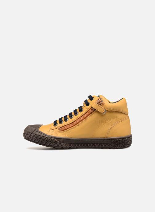 Sneaker Stones and Bones Niels gelb ansicht von vorne