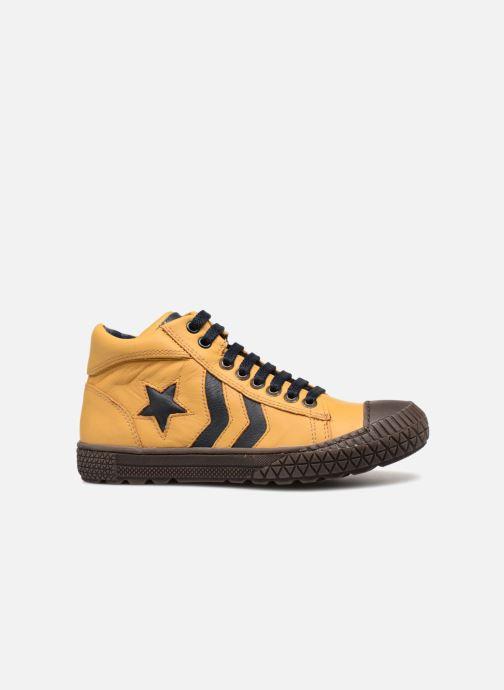 Sneaker Stones and Bones Niels gelb ansicht von hinten