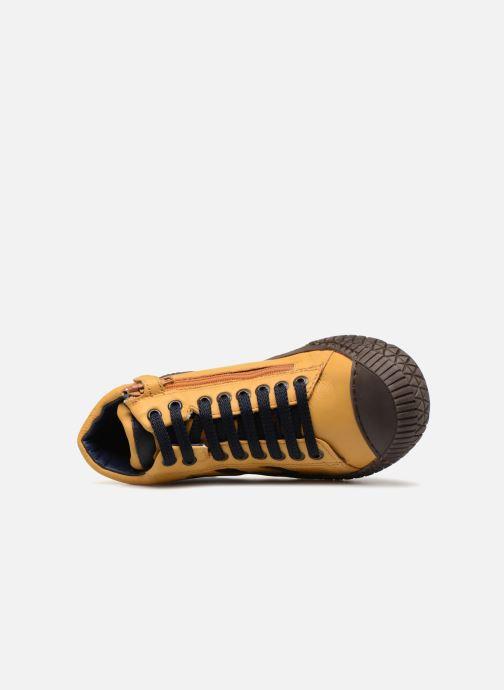 Sneaker Stones and Bones Niels gelb ansicht von links