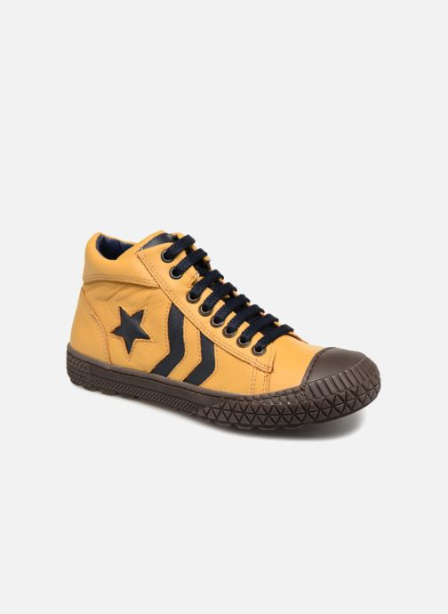 Sneaker Stones and Bones Niels gelb detaillierte ansicht/modell