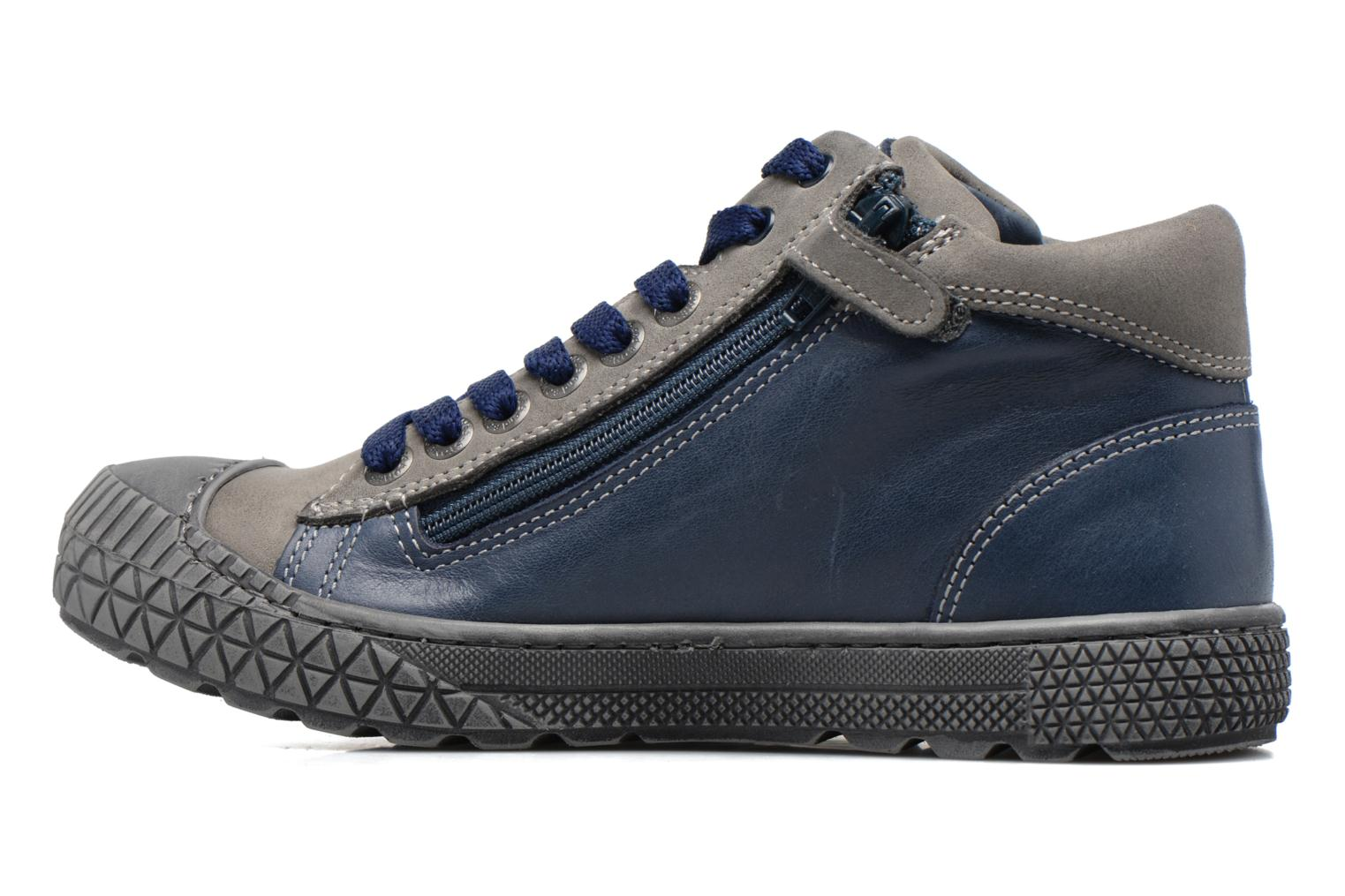 Trainers Stones and Bones Niels Blue front view