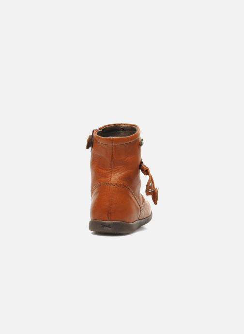 Bottines et boots Stones and Bones MAIL Marron vue droite