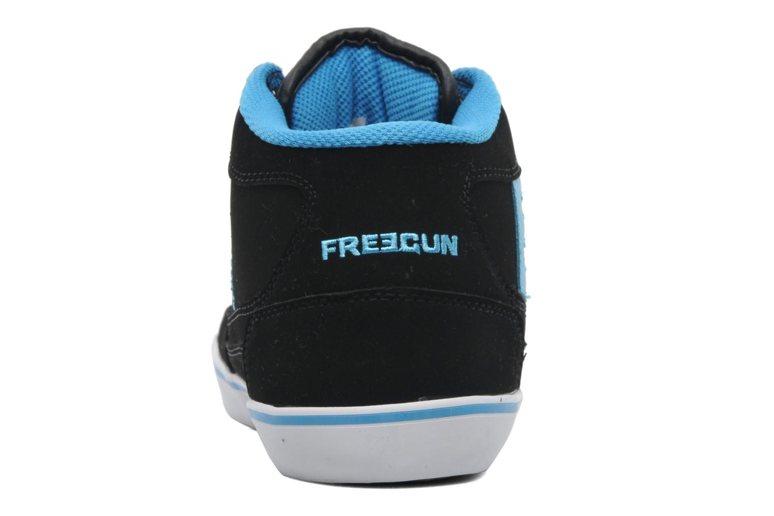 Trainers Freegun Fg Panamic Mi Black view from the right