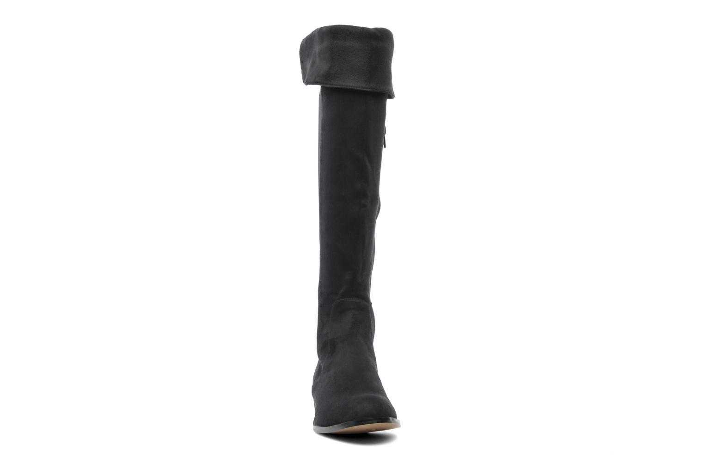 Bottes Georgia Rose Marie-Gab stretch Noir vue portées chaussures