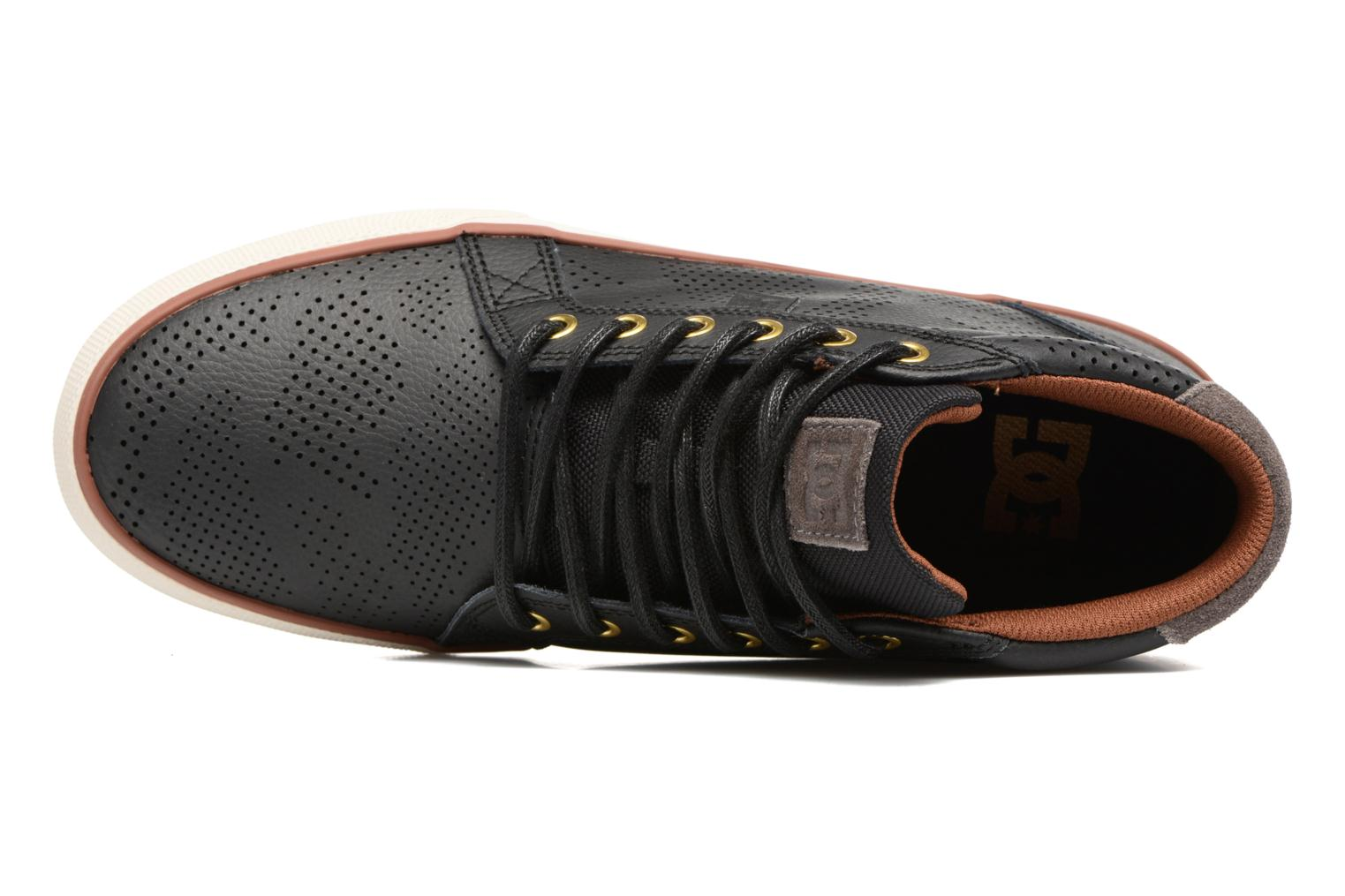Trainers DC Shoes Council Mid Se Black view from the left