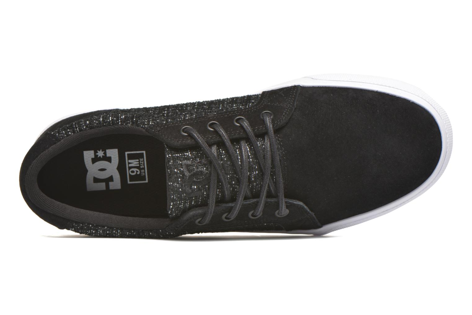 Sneaker DC Shoes Council Se schwarz ansicht von links