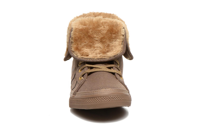 Sneaker Hummel Freetime Jr braun schuhe getragen