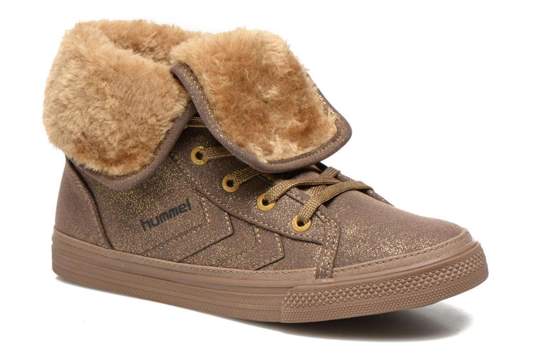 Sneaker Hummel Freetime Jr braun detaillierte ansicht/modell