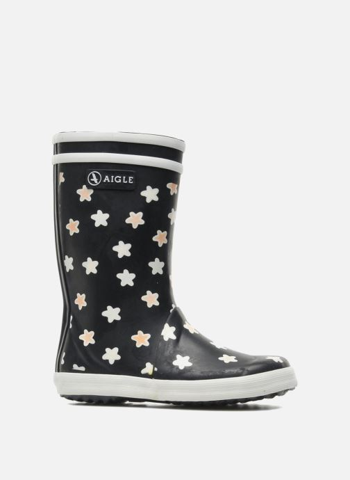 Boots & wellies Aigle Lolly Pop Print Blue back view