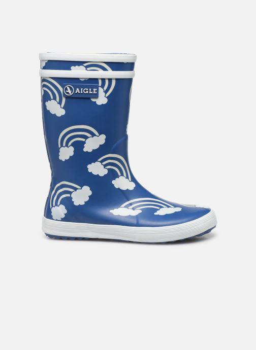 Støvler & gummistøvler Aigle Lolly Pop Print Blå se bagfra