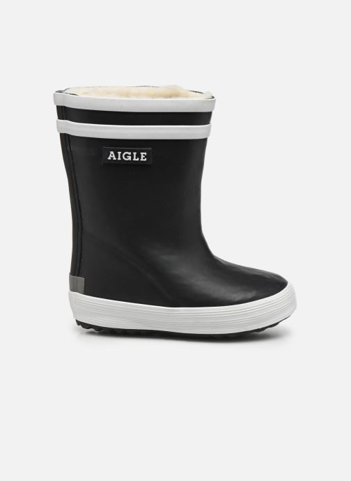 Boots & wellies Aigle Baby Flac Fur Blue back view