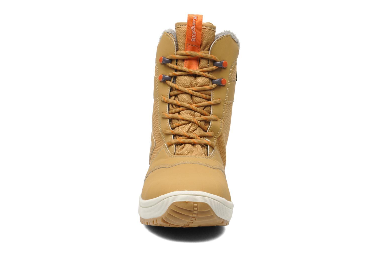 Bottines et boots Kangaroos Kanga-Tex 2024 Jaune vue portées chaussures