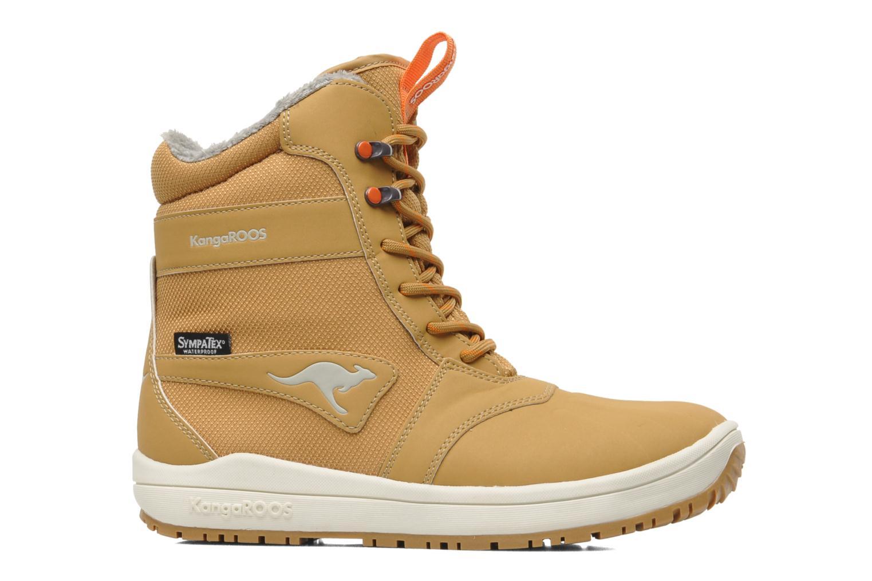 Bottines et boots Kangaroos Kanga-Tex 2024 Jaune vue derrière