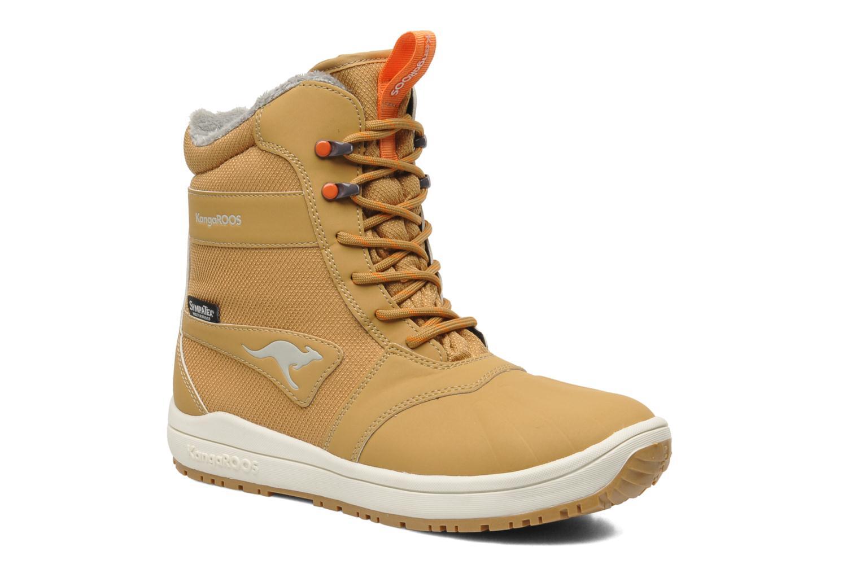 Bottines et boots Kangaroos Kanga-Tex 2024 Jaune vue détail/paire