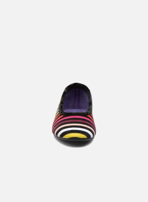 Chaussons La maison de l'espadrille Simone Multicolore vue portées chaussures