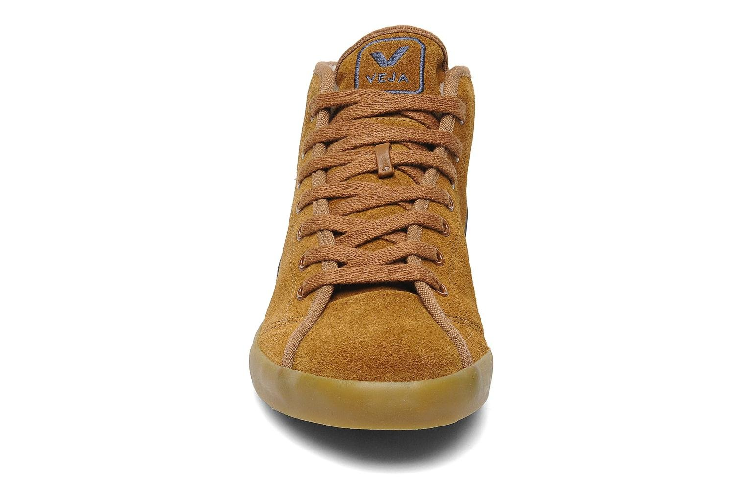 Sneakers Veja Taua Mid Suede Fourre Bruin model